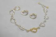 Ss 14k Sailor's Love Knot Bracelet